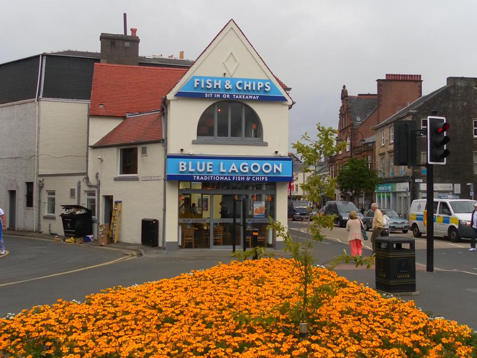 Blue Lagoon, Main Street